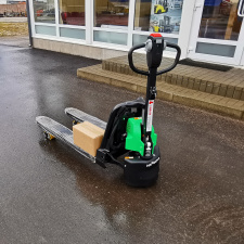 Elektrinis palečių vežimėlis Hangcha